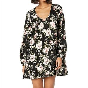 Show Me Your Mumi Floral Mini Swing Dress EUC